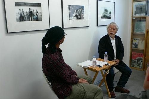 (左 Left)布施直樹さん Naoki Fuse (右 Right)土田ヒロミさん Hiromi Tsuchida