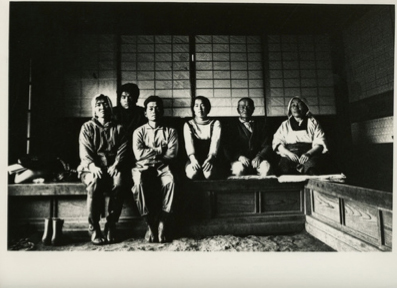 "北井一夫「三里塚」""Sanrizuka"" by Kazuo Kitai, Farming family in their home. 1970s."